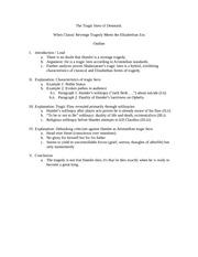 macbeth tragic hero essay outline