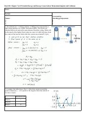 Recit08-[Elastic PE CoME Momentum Impulse]-key