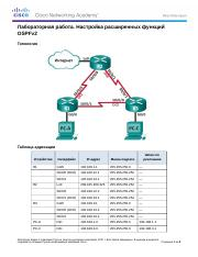 10.1.3.5 Lab - Configuring OSPFv2 Advanced Features.docx