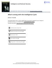 Whats wrong with the intelligence cycle.pdf