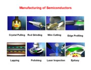 Presentation 3 Manufacturing of semiconductors