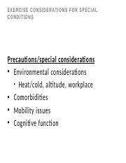 17 Student Exercise considerations for special conditions -16.pptx