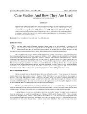 How to use case studies.pdf