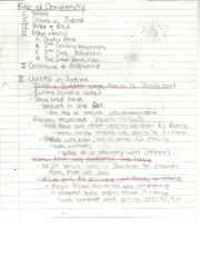 Hist 110 Rise of Christianity Notes