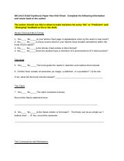 Synthesis Paper Peer Edit Sheet - AKIA TURNER [student].docx