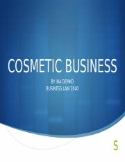 Cosmetic business.pptx