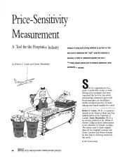 Lewis; Price Sensitivity Measurement.pdf