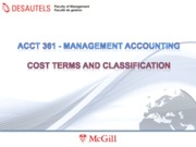 MA 4 - Cost terms