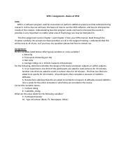 spss assignment 1