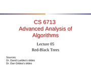 lecture05-RBTree