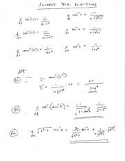 Lesson: Inverse Trig Functions