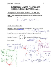 8.2...Repeated Eigenvalues