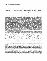 Toward an Evangelical Theology of Religions (Readings).pdf