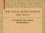 Cy Fair HIST 1302-GREAT DEPRESSION, FDR, NEW DEAL UNIT