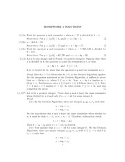 Homework A Solutions on Modern Algebra