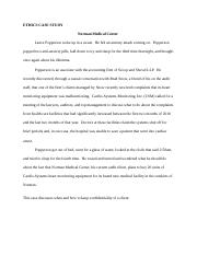 Ethics Case Study - Norman Medical Center (1).docx