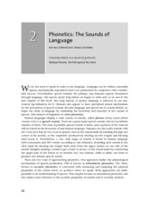 PhoneticsThe Sounds of language_Ch2