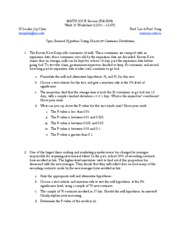 Si - week 15 worksheet