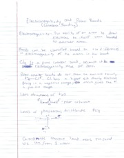 CH Notes Electronegativity and Polar Bonds