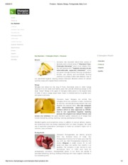 Products - Banana, Mango, Pomegranate, Baby Corn