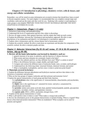 Unit 1 study sheet fall07