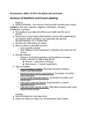 NFSC100 Exam 1 Notes.docx