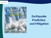 CAHPTER 4  - EARTHQUAKES PREDICTION AND MITIGATION