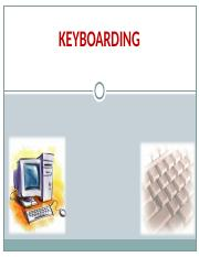 Keyboarding Presentation for Students