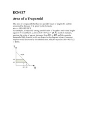 ECN437Area of a trapezoid