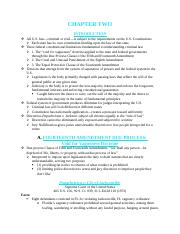 Ch.2- Constitutional Limitations-Punish.docx