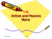 Voice of Verbs Active  Passive.ppt