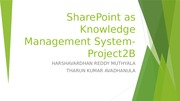 SharePoint as Knowledge Management System (1)