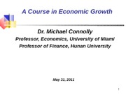 GrowthAccounting-Lecture 3
