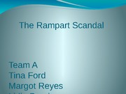 The Rampart Scandal Team A