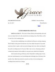 grace winery news release.docx