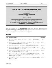 updated List of Publications-byProfAtta-11-04-2013