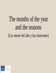 CH01_4. The months and the seasons.ppt