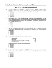 intermediate accounting 11 edition multiple choice