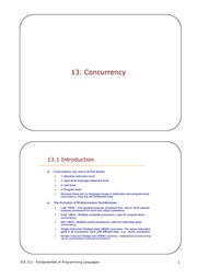 13-Concurrency