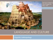 30. Language and Culture