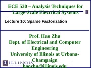 ECE530 Fall 2014 Lecture Slides 10