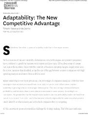 Adaptability_ The New Competitive Advantage.docx
