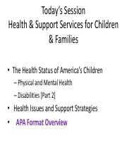 200.8 Health & Support Services