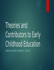 CHFD210 Assignment 1 - Theories and Contributors to Early Childhood Educ..pptx