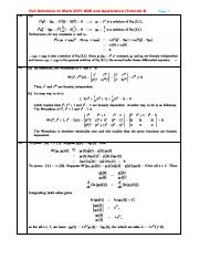 Full Solutions to Math 2351 ODE and Application (Tutorial 4).pdf