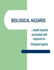 14biohazards.ppt
