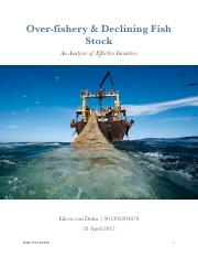 Over-fishery & Declining Fish Stock .pdf
