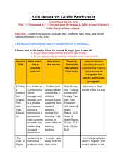 jayvont johnson 5.06 Research Guide Worksheet.docx