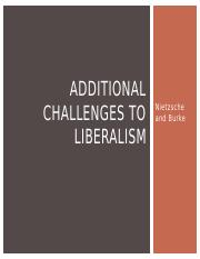 Lecture Ten - Additional Challenges to Liberalism.pptx