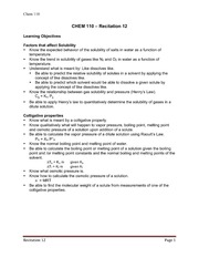 Learning objectives 12